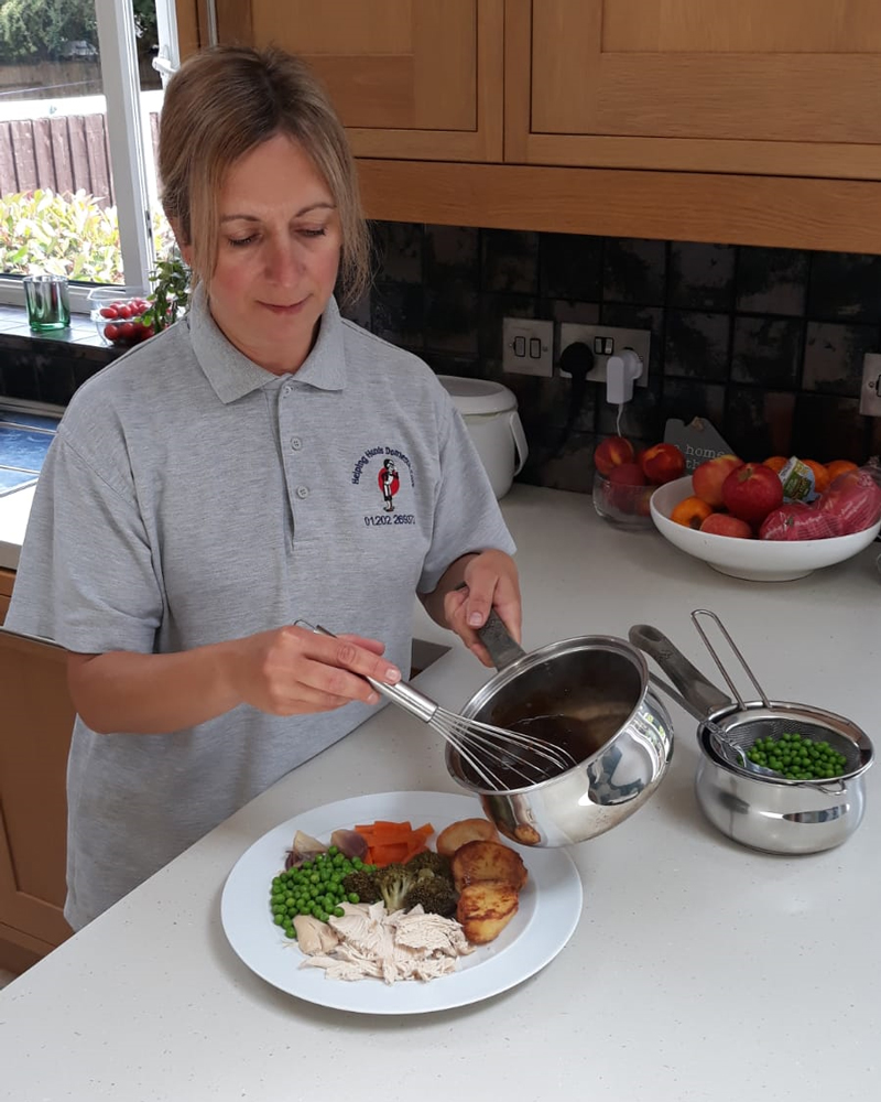 Home Meal service for elderly